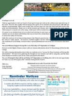 Newsletter 05.09.13