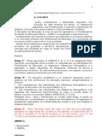 RESOLUÇÃO SE 52 de 14-8-2013 PERFIS PARA CONCURSO