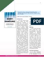 Samsung vs Sony