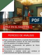 Chile en El Siglo Xx Parte 1