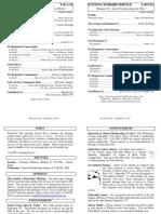 Cedar Bulletin Page - 09-08-13