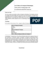 Comparison of Software Development Methodologies