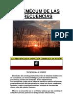 VADEMÉCUM DE LAS FRECUENCIAS