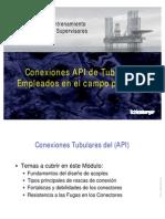 Conexiones de Tubulares API