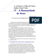 Cristologia - humanidade