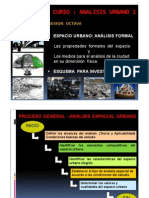 Analisis Urbano i - Clase 8