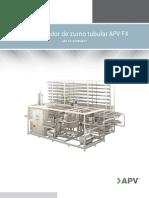 APV FX Tubular Juice Pasteurizer 5405 02-01-2012 MEX