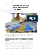 Modulo 3 Bancos Nao Explicam Por Que Juros de Cartao de Credito No Brasil Sao Tao Altos