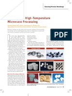 Advances in High-Temperature Microwave Processing