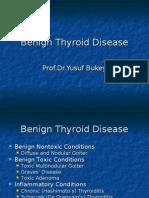 Thyroid Benign Tumor