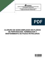 NRF-299-PEMEX-2012 Cloruro de Sodio Empleado en Fluidos de Perf, Term y Mantto de Pozos Petroleros.