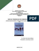 ENSAYO DEL LIBRO NUEVAS TENDENCIAS EN COMUNICACIÓN CORREGIDO 1