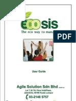 Ecosis User Manual