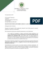 2013_0904 - Carta a La Contralora (Referido a Investigacion Campana Puerto Rico La Isla Estrella)