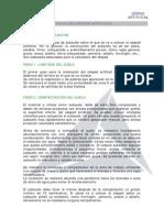 Manual de Instalacion Cesped Artificial y Geotextil Antihierbas.