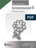 CNaturales4 Primera Cartilla