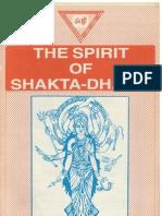 70897126 the Spirit of Shakta Dharma