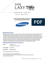 User Manual Guide Samsung Galaxy Tab 3.8.0
