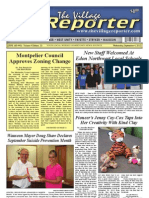 The Village Reporter - September 4th, 2013