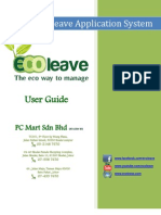 Ecoleave HR User Manual