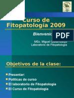 Introduccion a la Fitopatologìa