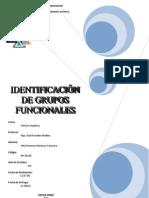 identificación de grupo funcionales