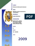 Ejemplo de Dato,Informacion y Conocimiento