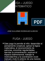 FUGA – JUEGO MATEMATICO
