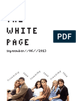 The White Page Zine #1