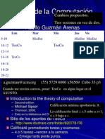 0 Teoria de La Computacion. 0 Introduction. 0.1-0.4 Automata, Terminology, Demostraciones. Sipser