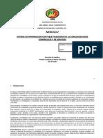 Módulo 2 Sistema de Información Contable Financiero en las Organizaciones Comerciales y de Servicios
