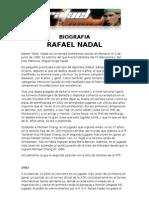 Biografia Rafa Nadal