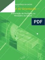 manual_de_orientacao_elaboracao_portarias - ministério da saúde