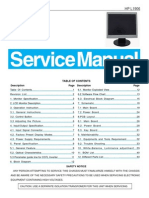 Hp Aoc Service Manual-hp l1906 Gm2621 a00