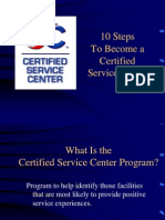 10 Steps to Become a CSC-SRC