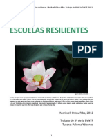 Escuelas Resilientes- Orteu, Meritxell