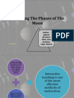Modeling the Phases of the Moon