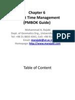 Time Management PMBOK