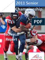 2011 IFAF WC Technical Report