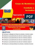 Módulo 7 - Operações de Combate a Incêndio
