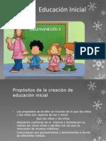 Modelo de Educacion Inicial