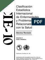 CIE-10 Volume 3