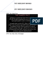 Sidney Sheldon Books