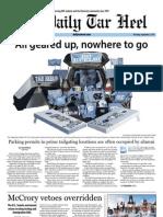 The Daily Tar Heel for September 5, 2013