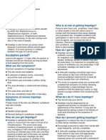 Impetigo Factsheet