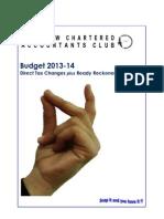 Budget Booklet 201314