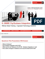 5 - OBIEE 11g Essbase Integration