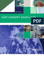 Brochure Safe Surgery