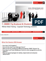 7 - OBIEE 11g Scaleout and Clustering