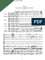 Concierto en C Para Flauta y Arpa K-299